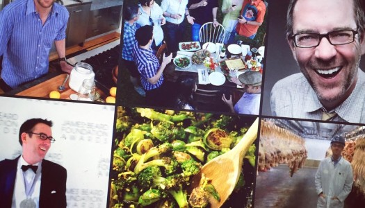 Chewing The Fat With Chef Ted Allen: Dining Out For Life, Zuni Café Roast Chicken and His Birthday Meal